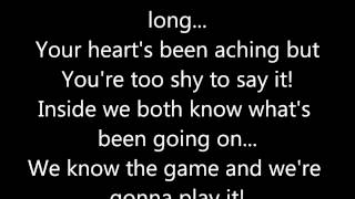Rick Astley - Never Gonna Give You Up (Lyrics)