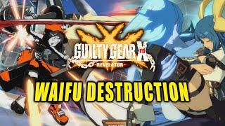 WAIFU DESTRUCTION! Guilty Gear Revelator PC - Online Matches