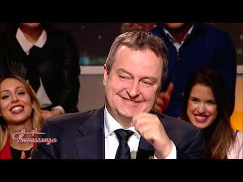 Cirilica - Ivica Dacic, Vjera Mujovic, Predrag Markovic (TV Happy 26.02.2018.)