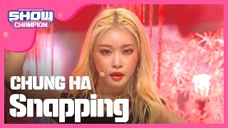 Download Show Champion EP.323  CHUNG HA - Snapping Mp3