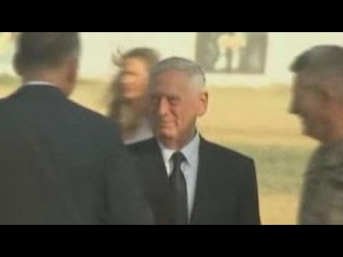 Defense Secy. Mattis target of rocket attack in Afghanistan