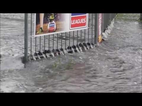 Freak UK Weather 7/6/2016 Lewsey Park Luton UK Flood