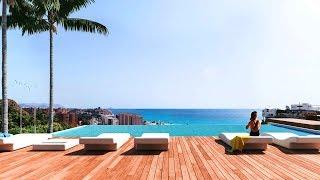 Бунгало в Испании на побережье Коста Бланка в городе Villajoyosa с видами на море и район Montiboli