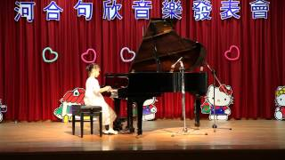 2014_1109_Cindy_Piano_Performance_洋娃娃之夢