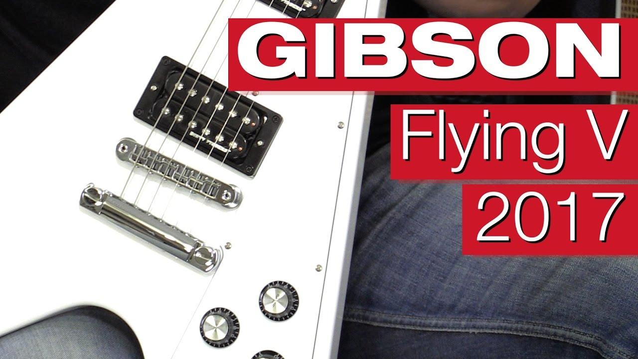 Gibson Flying V 2017 (im Test)