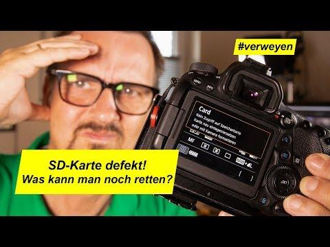 SD-Karte Defekt/Bilder Gelöscht? Was Kann Man Noch Retten…?
