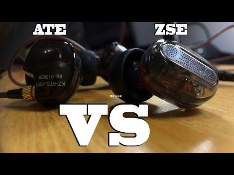KZ ZSE vs KZ ATE   Earphones