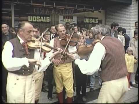 Landsstævne 1971 i Holstebro - Liv og glade gade