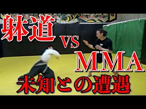 躰道vs総合格闘技!世界4連覇の達人が放つ「躰道」を食らう・・!