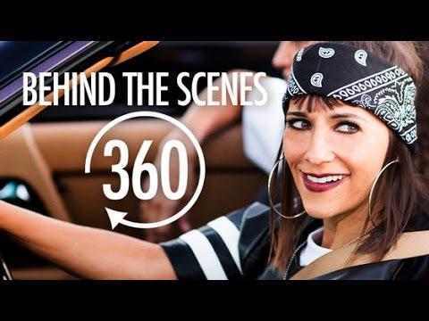 """Rashida Jones 360 """"Flip And Rewind"""" Behind The Scenes"""