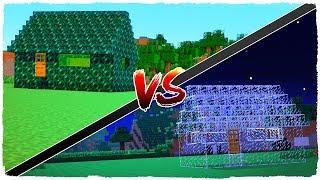 GLASS house vs ENDER PEARL house
