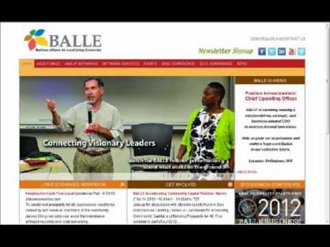 BALLE Webinar - Lending Circles: A Model for Acc. Comm. Capital & Bldg Prosp. For All - Feb. 2012
