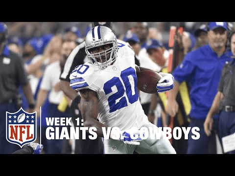 Darren McFadden Shows Off His Speed for 19-Yard Gain | Giants vs. Cowboys | NFL