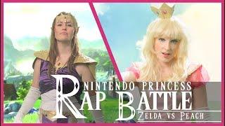 ZELDA vs PEACH Nintendo Princess Rap Battle
