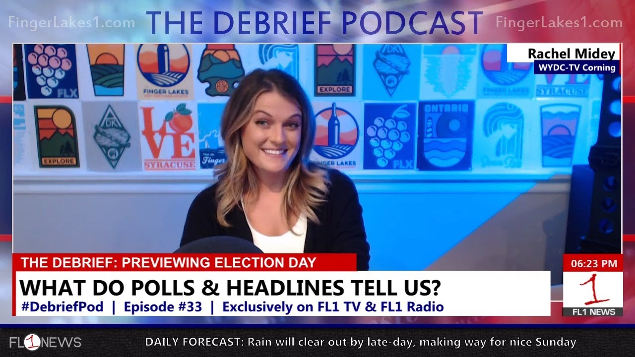 Biggest races, the latest polls, and financial reports ahead of Election Day .::. The Debrief Podcast 11/4/18