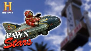 Pawn Stars: TOP TOYS OF ALL TIME (13 Rare Games, Action Figures & More) | History