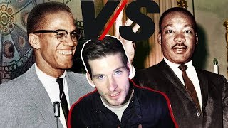 Martin Luther King Jr. and Malcolm X led the 1960's Civil Rights Mo...