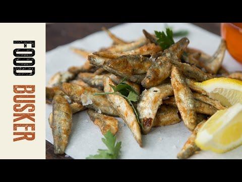 Fried Whitebait | Food Busker