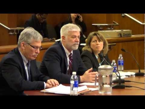 NYS DEC Budget Hearing: Fracking-Related Excerpts