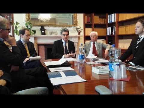 IMPORTANT MEETING AT THE ITALIAN EMBASSY DUBLIN