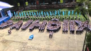 """1.000 Sinh viên TP. HCM xếp hình """"Đại hội IX"""""""