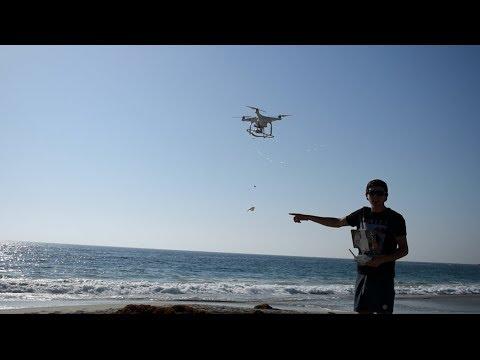 DRONE FISHING IN LAGUNA BEACH CALIFORNIA - STEP BY STEP GUIDE