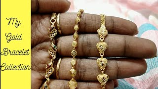 Latest Gold Women Bracelet Collection With Weight | My Gold Bracelet Collection with Price & Weight