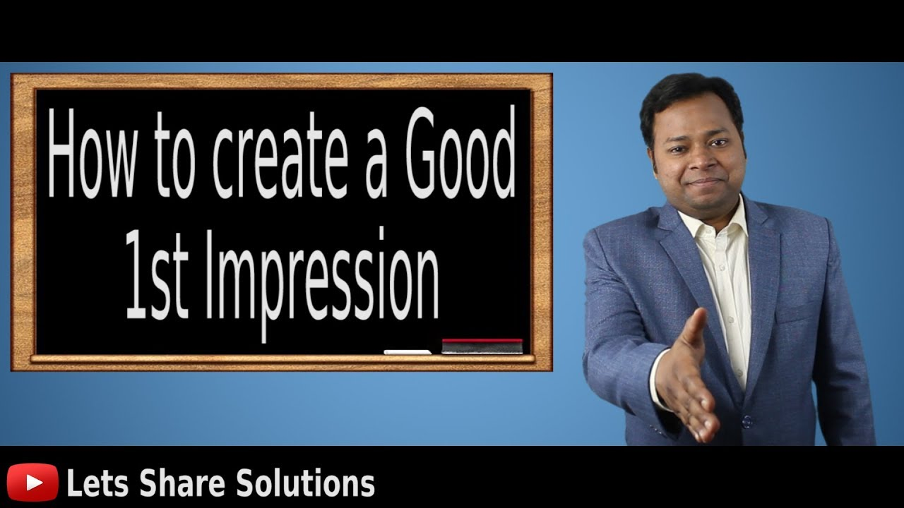 how to get a good impression in a job interview