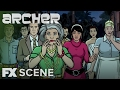 Archer | Season 7 Ep 10: Holy Shtsnacks Scene | Fx