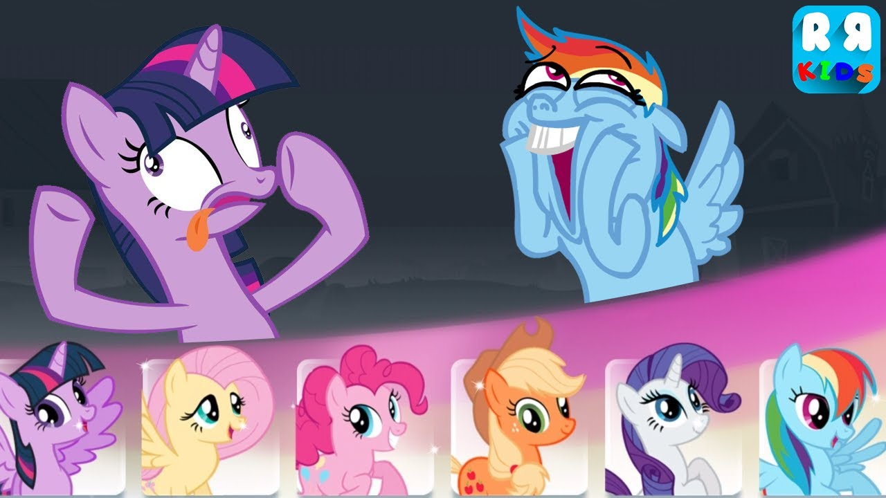 - My Little Pony Rainbow Runners - Twilight Sparkle And Rainbow Dash