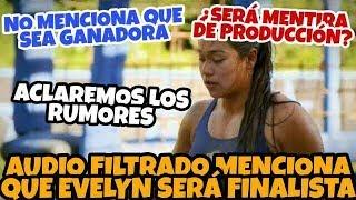 AUDIO filtrado pone a EVELYN como FINALISTA NO Ganadora | EXATLÓN MÉXICO