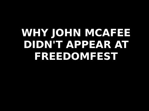 Why John McAfee Didn