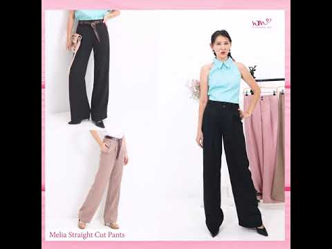 Melia Straight Cut Pants