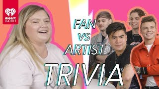 5 Seconds Of Summer Challenges A Super Fan In A Trivia Battle | Fan Vs. Artist Trivia