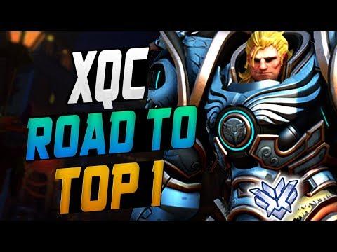 XQC INSANE REAINHARDT! [ OVERWATCH SEASON 10 TOP 500 ] thumbnail