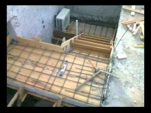Como hacer escalera de hormigon youtube for Construccion de escaleras de madera