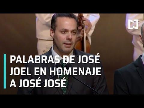 Homenaje a José José: Algún día volveré a ver a mi padre: José Joel - Las Noticias
