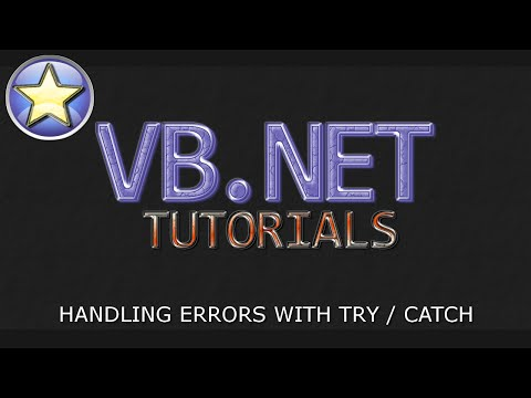 VB.NET Beginner Tutorial - Error Handling With TRY / CATCH (Visual Basic.NET)