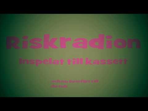 Riskradion ( Humorprogram från sena 80-talet ) Hel kassett