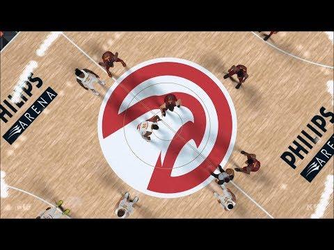 NBA 2K18 - Atlanta Hawks vs Cleveland Cavaliers - Gameplay (PS4 HD) [1080p60FPS]