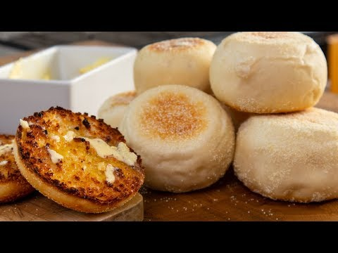 How to make Proper Traditional Authentic English Muffins