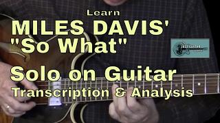 Learn Miles Davis