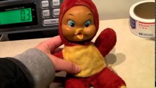 What Sells On Ebay: Weird Duck Doll, Ferragamos, Canoe Muffin La Joya, Lane End Tables