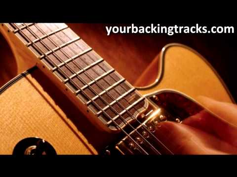 Smooth Jazz Guitar Backing Track in Bb Major / Free Jam Tracks TCDG