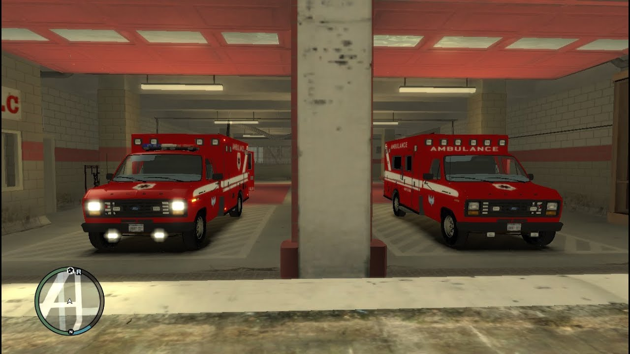 Gta 4 Mods Ford E 150 Ambulance Pack Pc Games Youtube