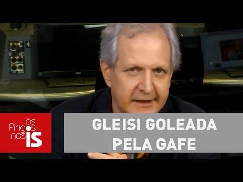 Augusto: Gleisi Goleada Pela Gafe