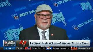 Bruce Arians introduced as Buccaneers head coach | NFL Total Access