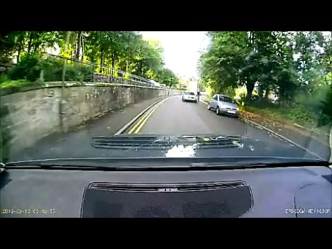 Shocking overtake on a pair of cyclists  Bridge of Allan Stirling