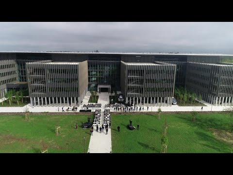 Inauguration Bâtiment M - Mérignac - Dassault Aviation