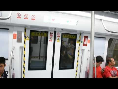 深圳地鐵(梅林線)行車片段 Shenzhen Metro Meilin Line